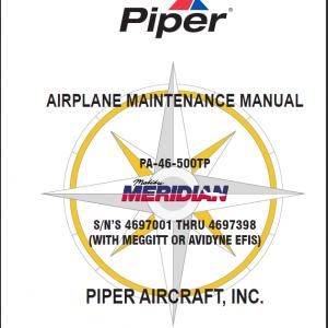Piper Meridian Manuals