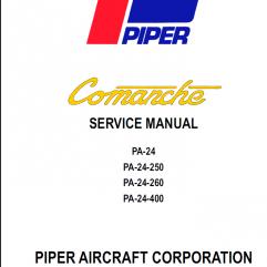 Piper Comanche Manuals