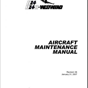 Maintenance Manual IAI Westwind
