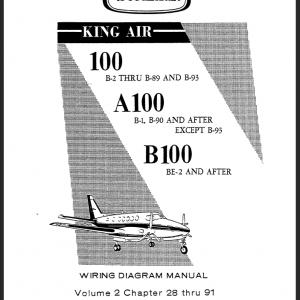 King Air 100 Manuals
