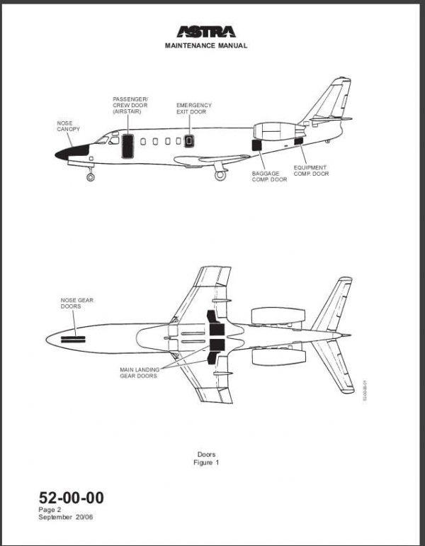 G100 Astra Jet Galaxy IAI 1125 Maintenance Manual Download