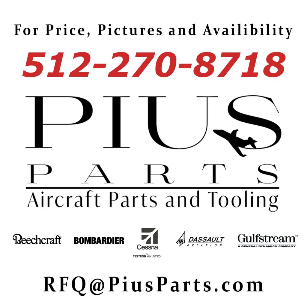 Pius Parts Aircraft Parts and Tooling Sales